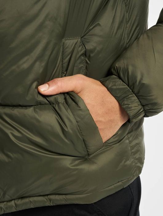 Jack & Jones jjDrew Hooded Puffer Jacket Asphalt image number 3