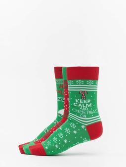 Urban Classics Christmas Lama 3-Pack Socks