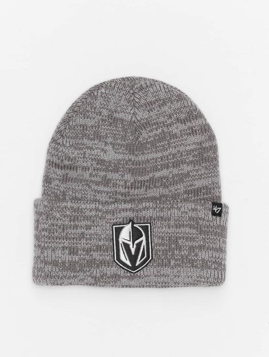 '47 NHL Vegas Golden Knights Brain Freeze Cuff Knit Beanie Dark Grey image number 0