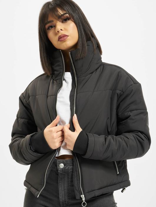 Urban Classics Oversized High Neck Jacket White image number 0