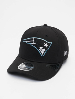 New Era Nfl Properties New England Patriots Neon Pop Outline 9fifty Snapback Cap Black