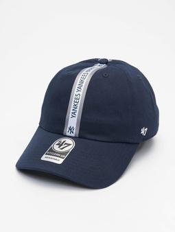 '47 New York Yankees Trip Stripe Clean Up Snapback Cap
