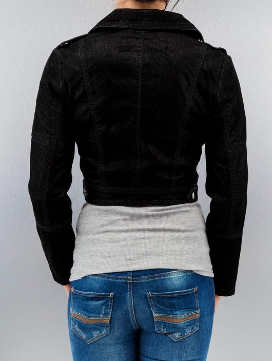Urban Classics Short Biker Jacket Black image number 1
