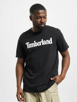 Timberland K-R Brand Linear T-skjorter svart