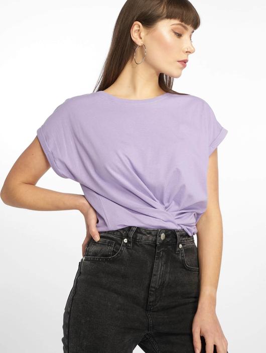 Urban Classics Extended Shoulder T-Shirt Teal image number 0