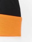 MSTRDS Jersey Reversible Beanie Black/Neon Orange image number 1