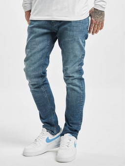 DEF Silvio Straight Fit Jeans blå