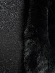 Urban Classics Ladies Hooded Faux Fur Vests image number 4