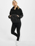 Urban Classics Ladies Sherpa Mix Pull Over Winter Jackets image number 7