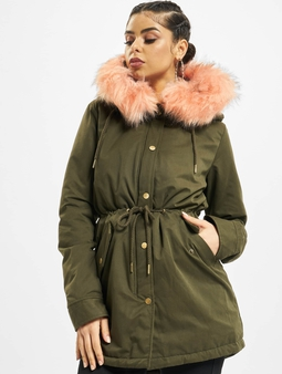 Urban Classics Peached Teddy Lined Parka