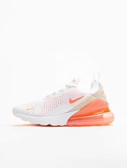 Nike Air Max 270 Ess Sneakers White/Bright Mango/Crimson Tint