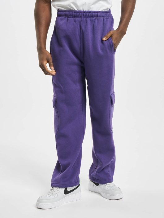 Urban Classics Cargo Sweatpants Purple image number 2