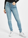 Rock Angel Skinny Jeans Light Blue Denim L143 image number 2