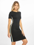 Urban Classics Multicolor Side Taped Dress Black image number 2