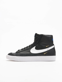 Nike Blazer Mid '77 Se Sneakers Black/White-Hyper Royal-White