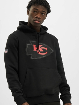 New Era NFL QT Outline Graphic Kansas City Chiefs Hoody Black