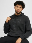 New Era NBA Chicago Bulls Team Logo Po Hoody Black/Black image number 0