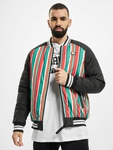 Southpole Stripe College College Jackets image number 0