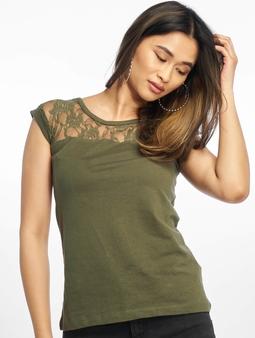 Urban Classics Top Laces T-Shirt