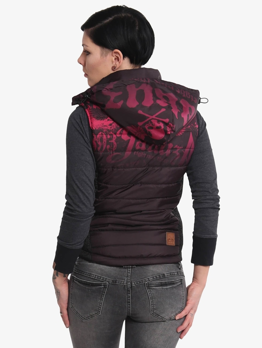 Yakuza Brandig Quilted Vests image number 1