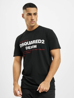 Dsquared2 Denim T-skjorter svart