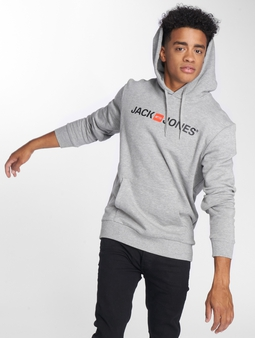 Jack & Jones jjeCorp Logo Sweat Hoody Black