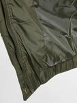 Urban Classics Hooded Puffer Jacket Dark Olive image number 3