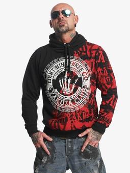 Yakuza Club Hoody Black/Red