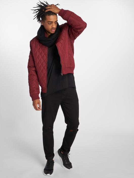 Urban Classics Diamond Quilt Nylon Lightweight Jackets image number 5
