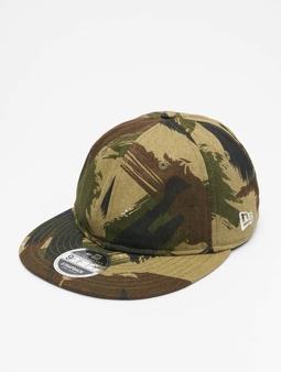 New Era Camo Ripstop Retro Crown 9Fifty Snapback Caps kamuflasje