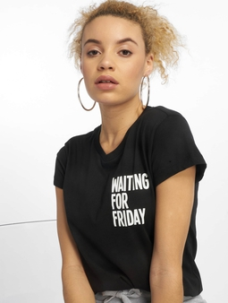 Mister Tee Waiting For Friday Box T-Shirt White/Pink