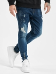 VSCT Clubwear Keanu Slim Fit Jeans Blue Rinsed image number 0