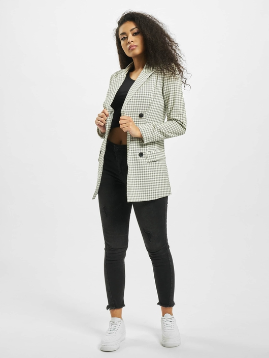 Missguided Checked Blazer Grey image number 3