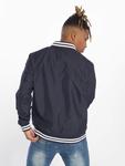 Urban Classics Light College Blouson Jacket Navy/White image number 1