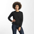 Only onlLotus O-Neck Sweatshirt Dark Grey Melange