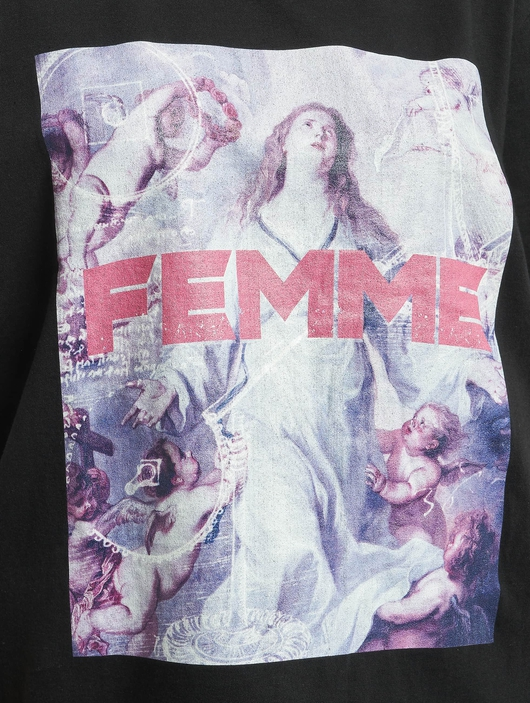 Missguided Femme Graphic T-Shirt Black image number 3