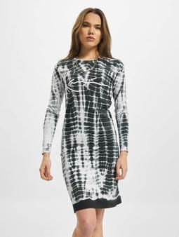Karl Kani Signature Tiedye Rib Dress White