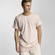 Urban Classics Long Shaped Turnup T-Shirt Grey