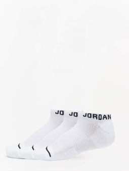 Jordan Jumpman No Show 3 Pack Sokker hvit
