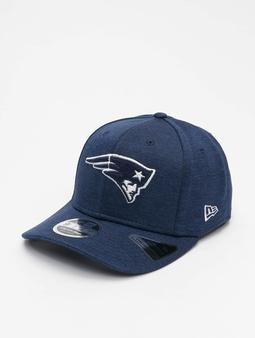New Era NFL New England Patriots Stretch Snapback Caps blå