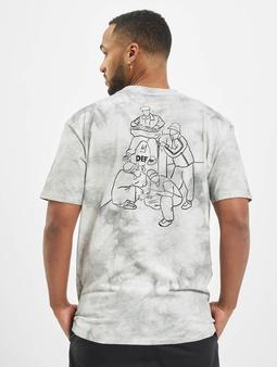 DEF Tie Dye Capsule T-skjorter grå