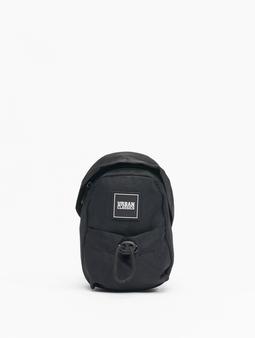 Urban Classics Small Crossbody Bag Black/Orange