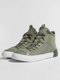 Converse Chuck Taylor All Star Ultra MID Sneakers Dark Stucco/River Rock/White