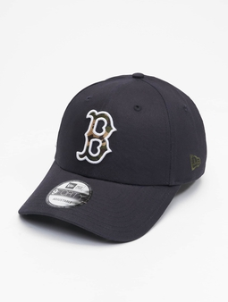 New Era Mlb Properties Boston Red Sox Camo Infill 9forty Snapback Cap New Olive/Woodland Camo