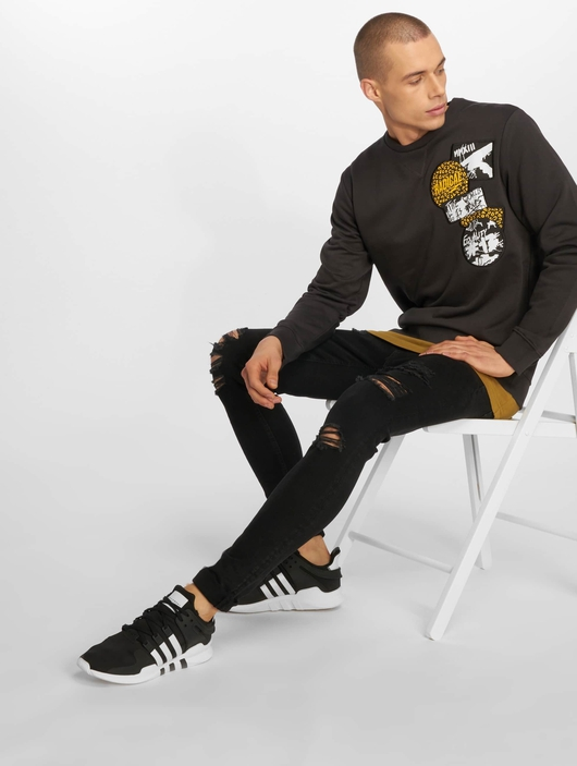 Jack & Jones jjiLiam jjOriginal Skinny Jeans Black Denim image number 5