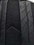 Urban Classics Imitation Leather Backpack Black image number 3