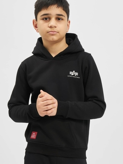 Alpha Industries Basic Hoody Small Logo Kids