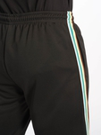 Urban Classics Side Taped Track Shorts Black/Grey image number 4