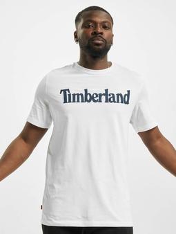 Timberland K-R Brand Linear T-skjorter hvit