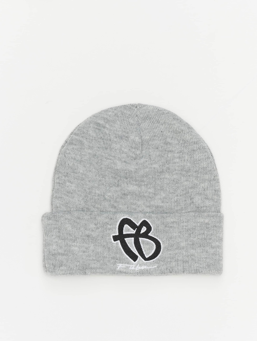 Fubu Basic Beanie Grey/Black/White image number 0